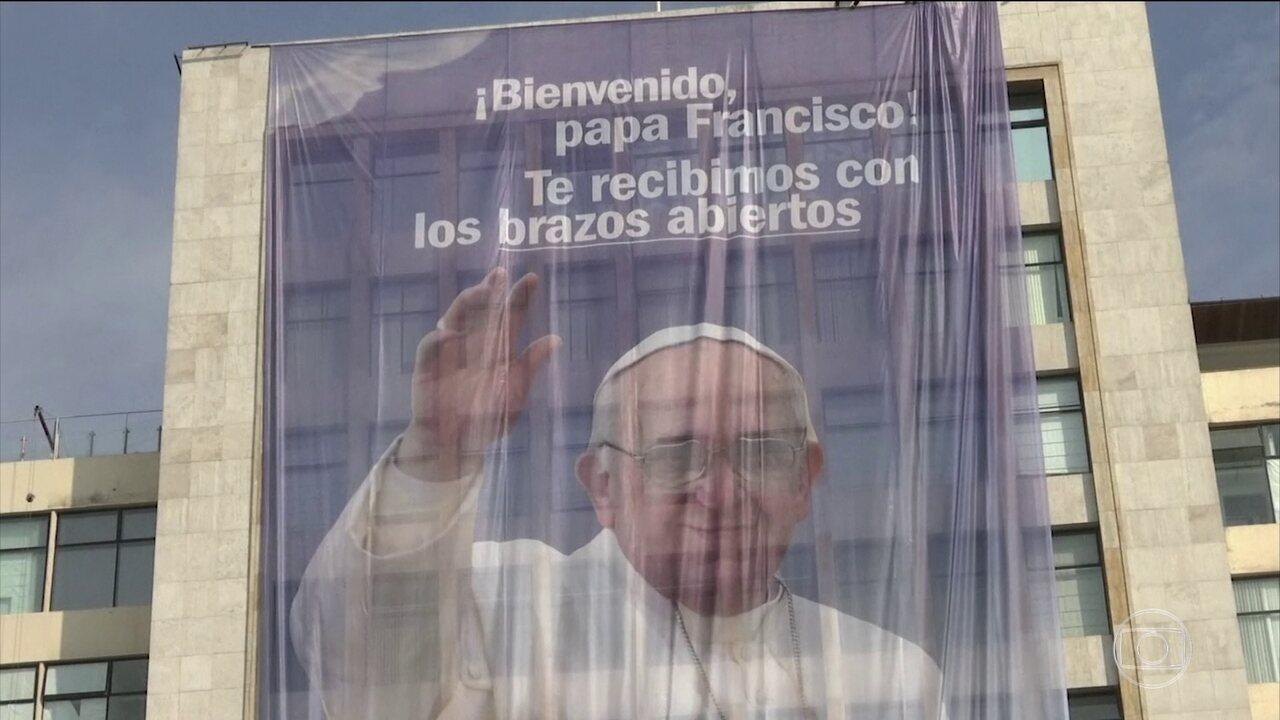 Papa Francisco embarca para o Chile