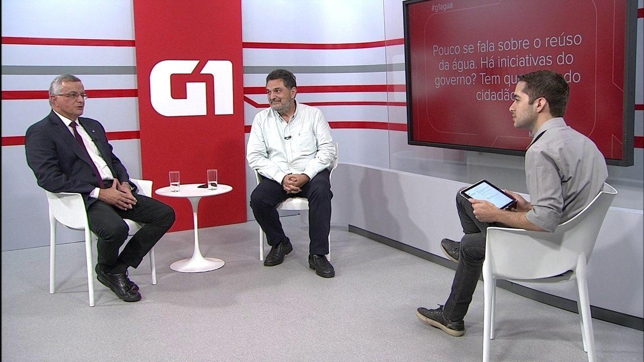 G1 entrevista especialistas sobre a Crise Hídrica no Distrito Federal