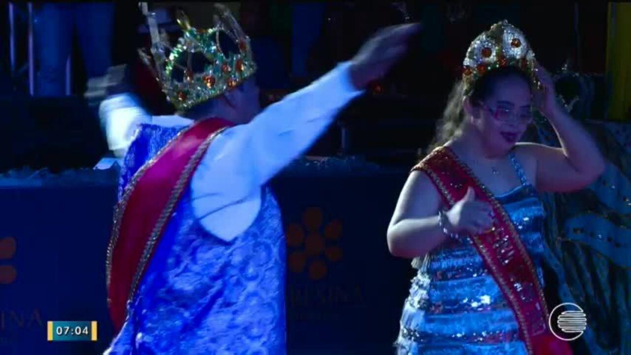 Rei e Rainha da pessoa com deficiência são escolhidos para o Carnaval em Teresina