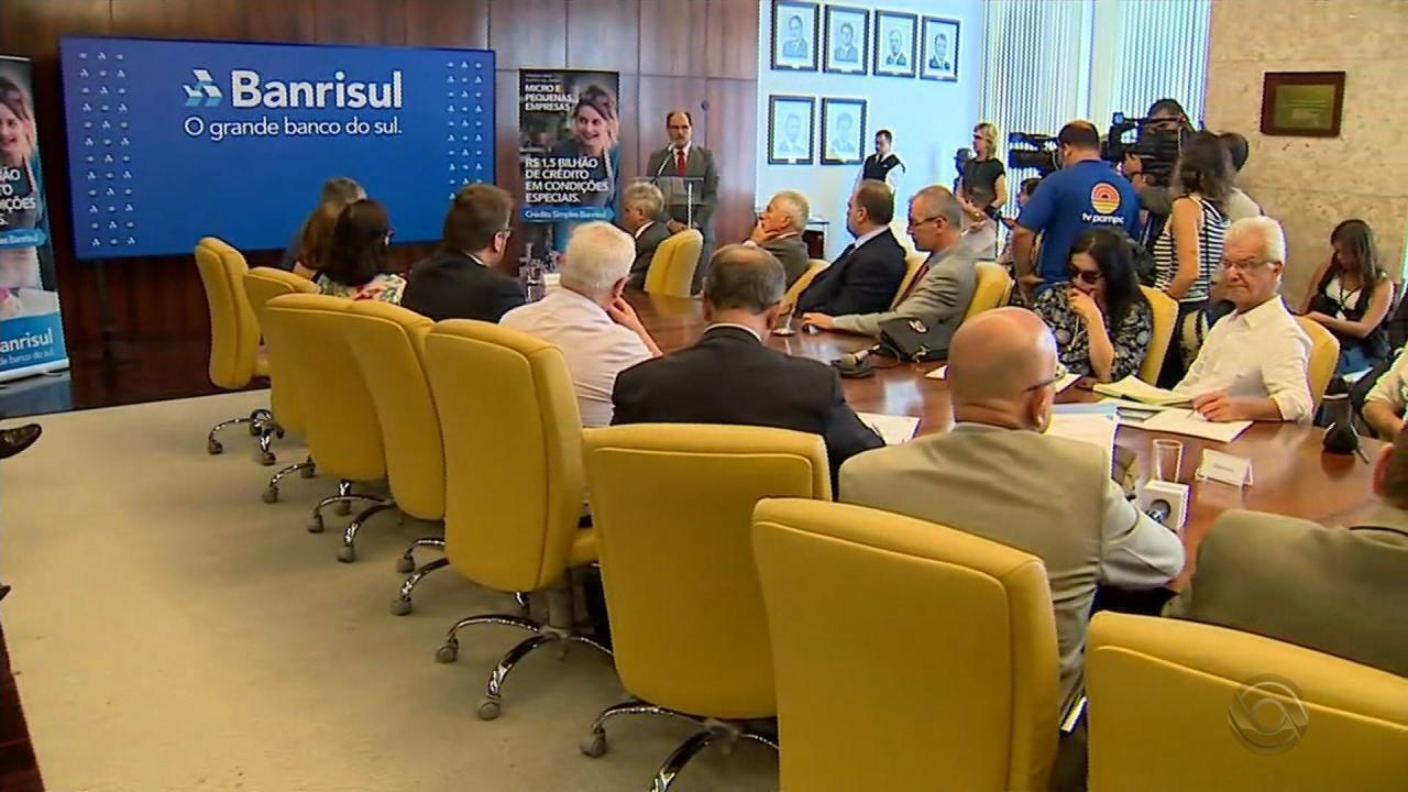 Governo do RS anuncia linha de crédito para pequenas e micro empresas
