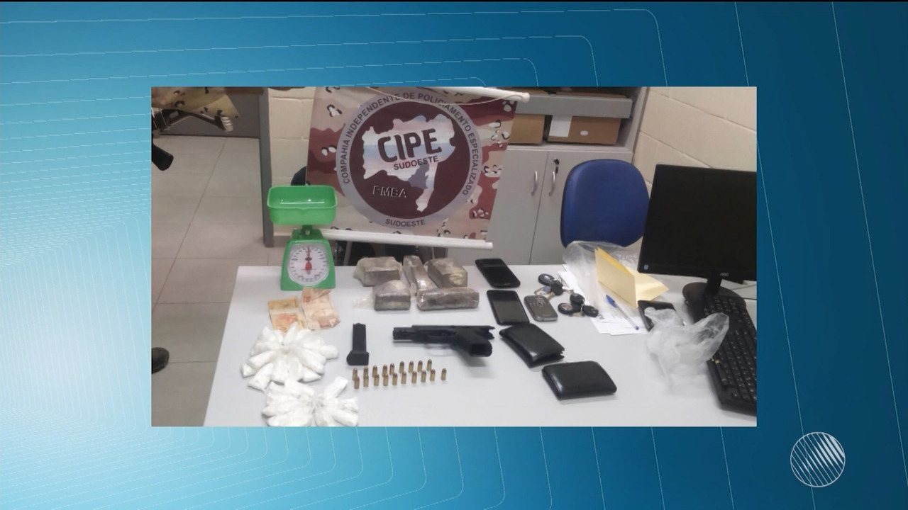 Quatro agentes de ressocialização são presos por tráfico de drogas em conjunto penal