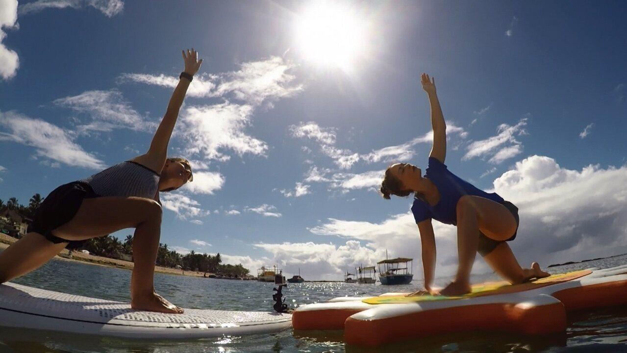 Slackline e SUP Yoga são as atividades do 'Esportes de Verão'