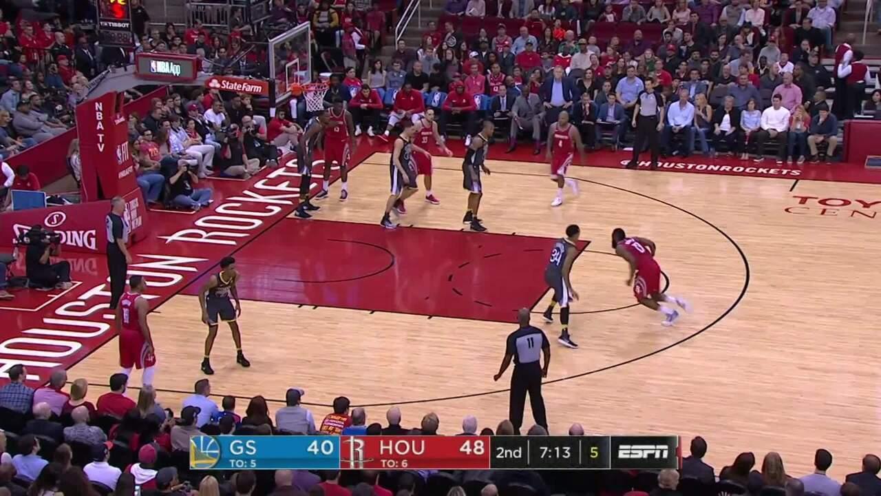 Melhores momentos de Houston Rockets 116 x 108 Golden State Warriors pela NBA