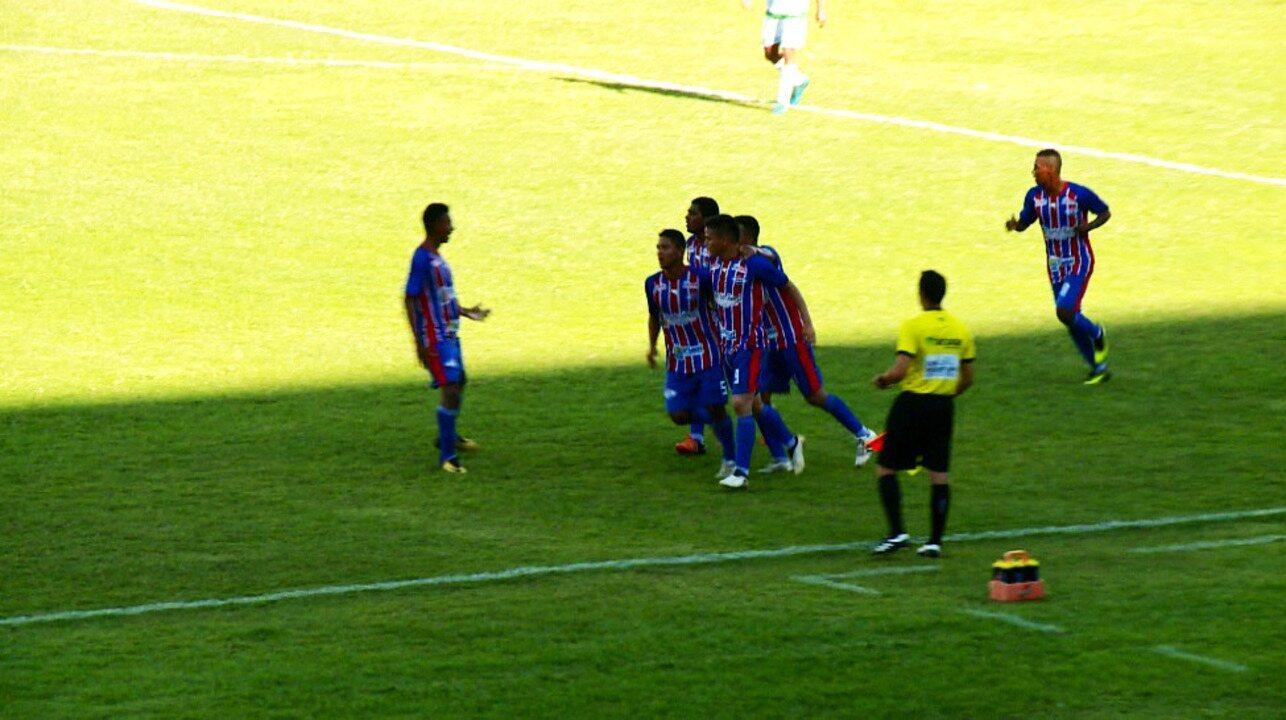 Os gols de Piauí 1 x 1 Altos pela primeira rodada do Campeonato Piauiense