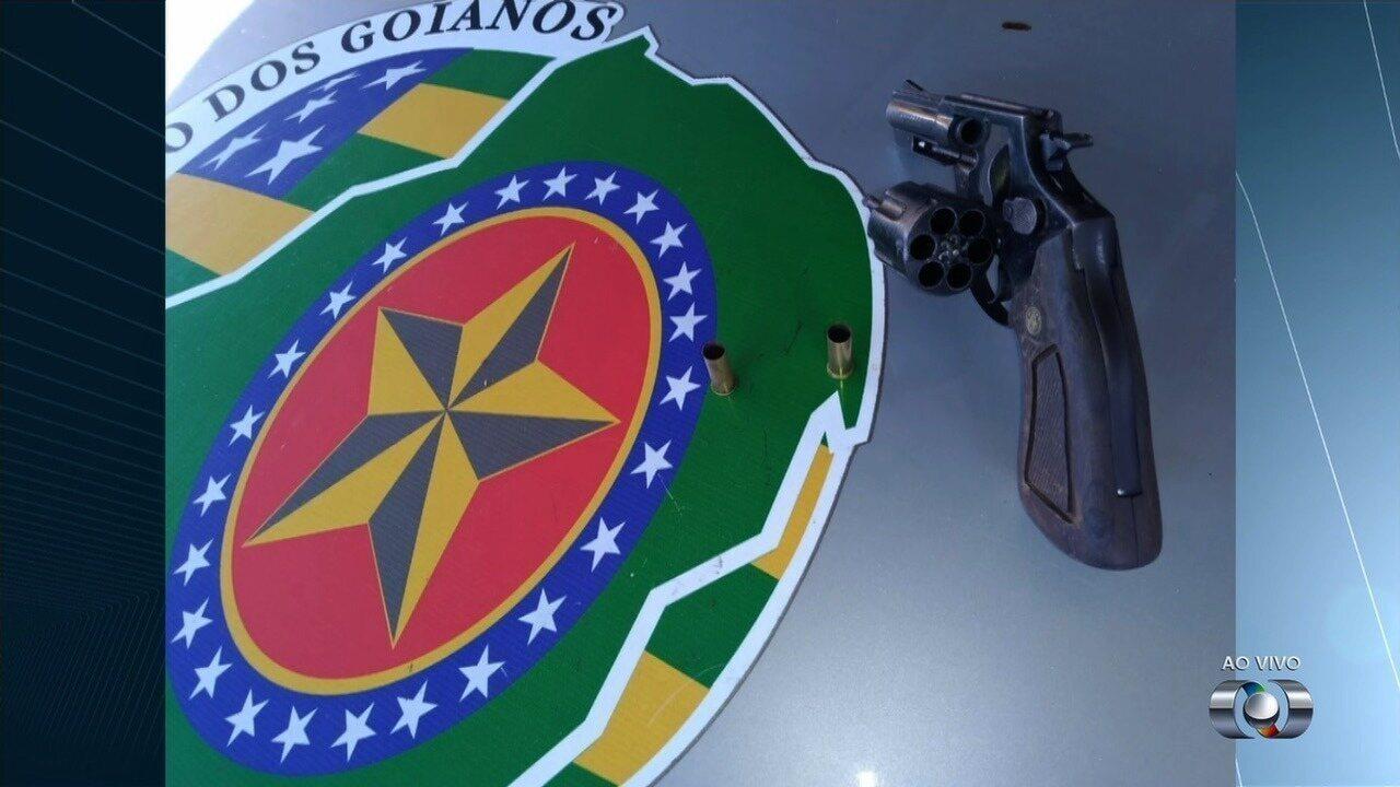 Torcedor do Vila Nova é baleado antes do clássico contra o Goiás