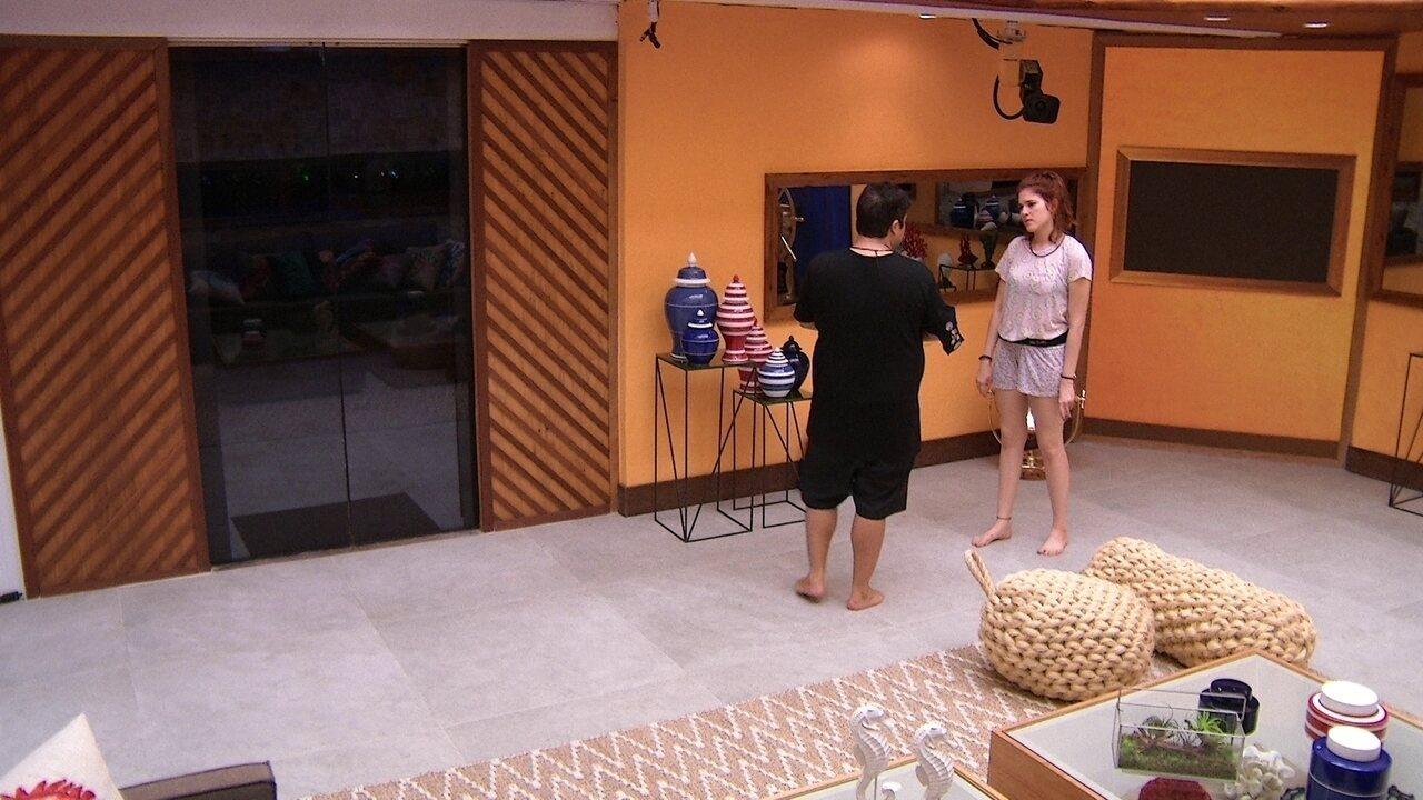 Jorge avisa à Ana Clara: 'Não estou com sono, mas estou cansado'