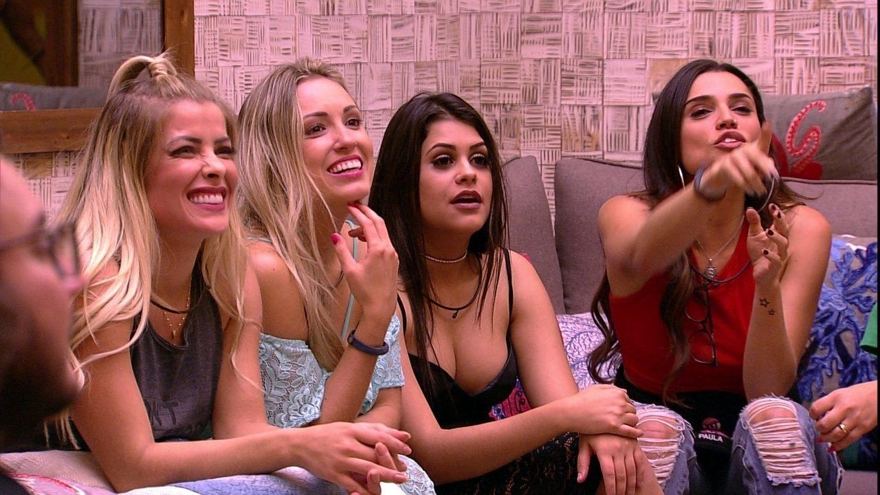 Sisters brincam com Kaysar: 'Tem uns flamingos no nosso quarto'
