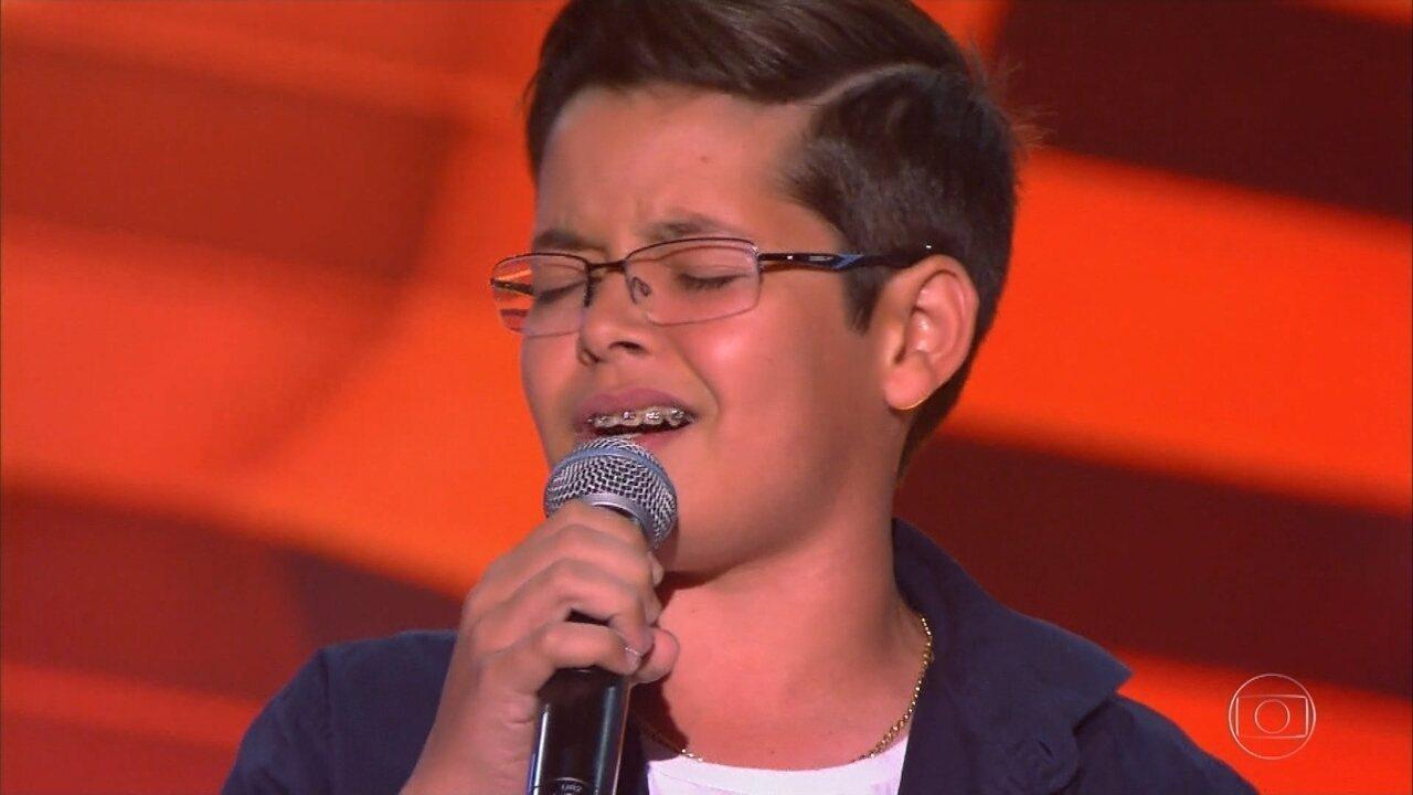 Gustavo de Iacri participa do The Voice Kids 2018