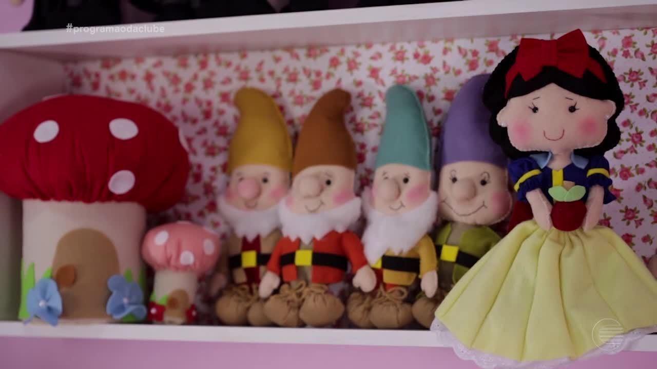 Artesã piauiense faz encantadores bonecos de feltro