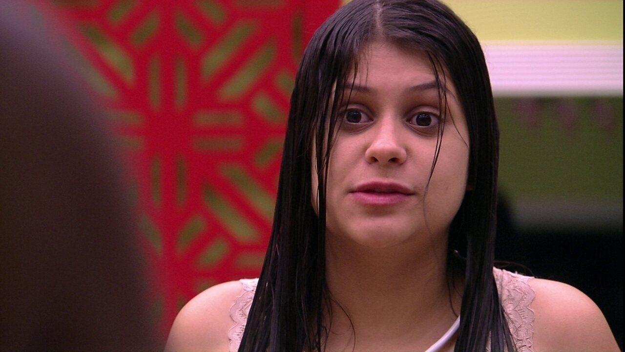 Ana Paula questiona postura de Ana Clara: 'Eu nunca votaria na minha mãe'
