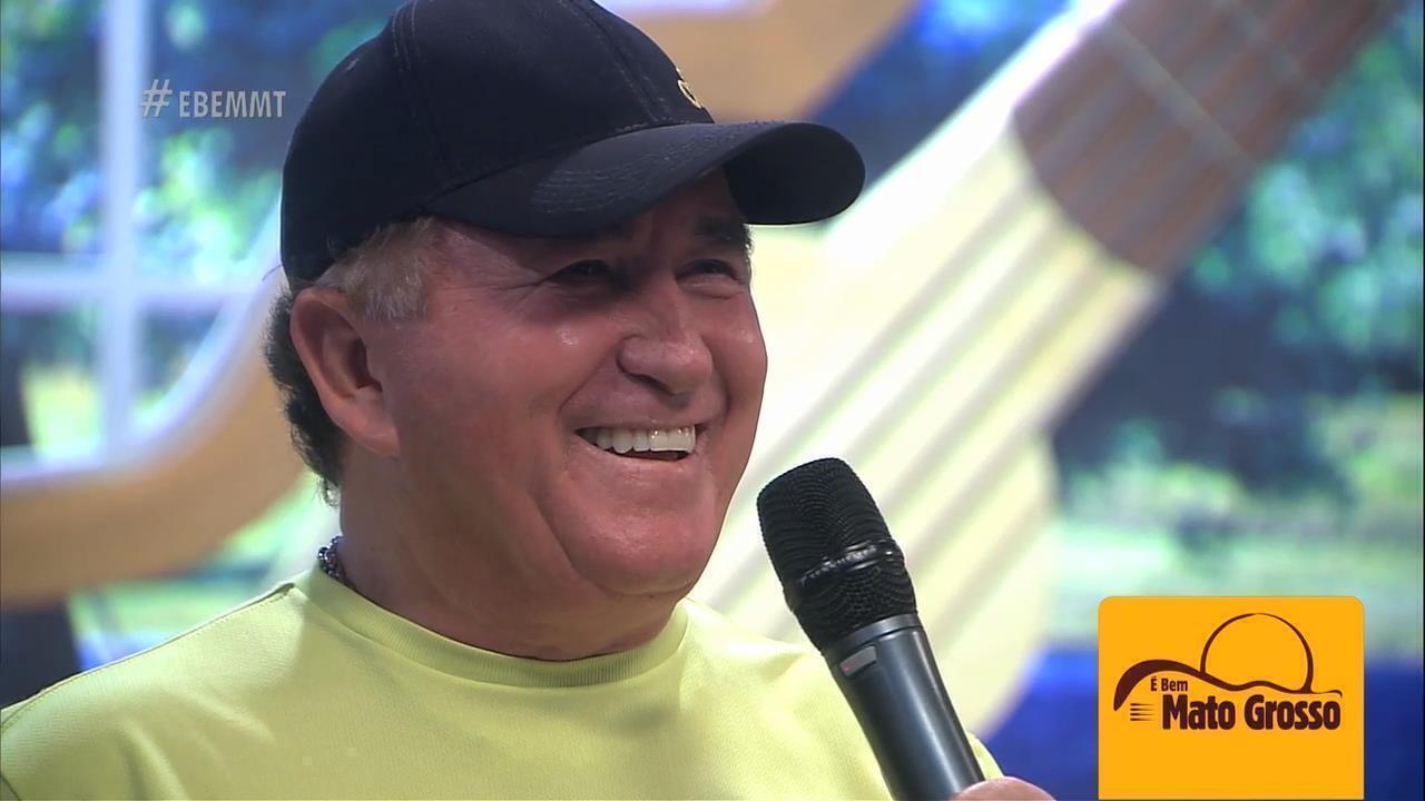 Reveja, neste sábado, o Amado Batista no palco do É Bem Mato Grosso