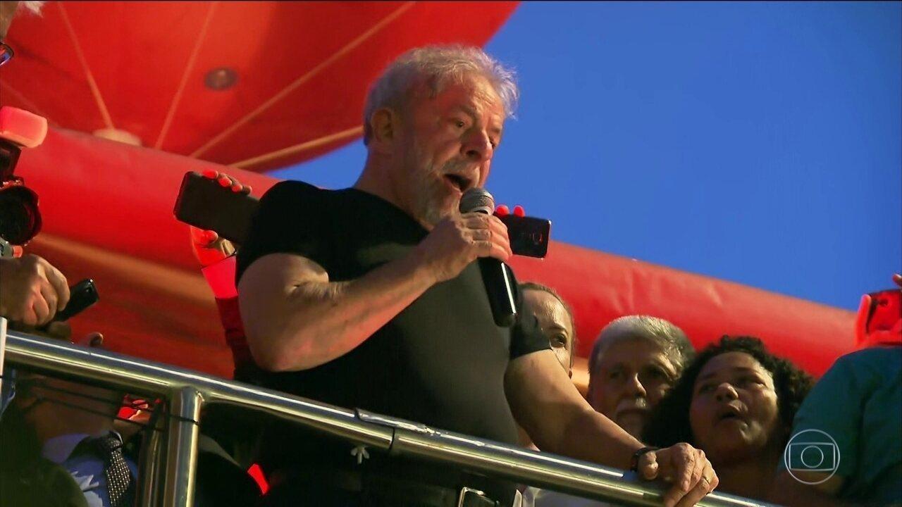 Lula rejeita decisão do TRF-4 e diz que é inocente
