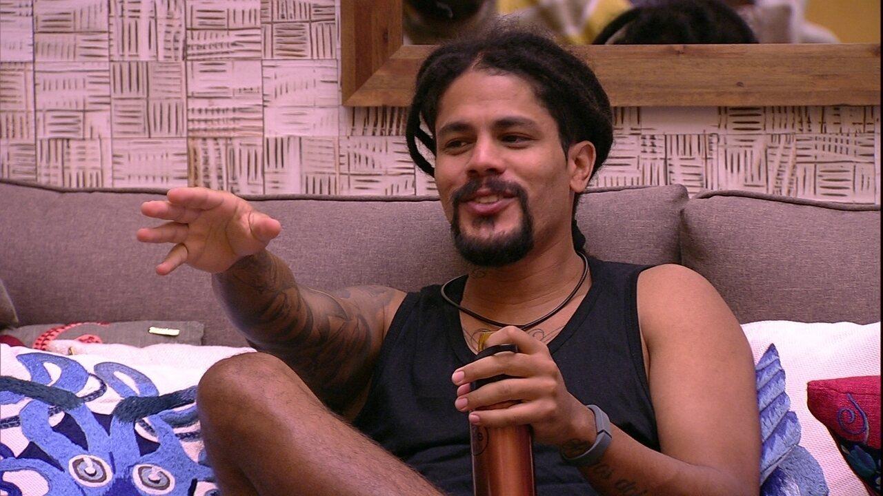 Viegas comenta com brothers: 'Eu não manjo muito de ritmo de jogo'