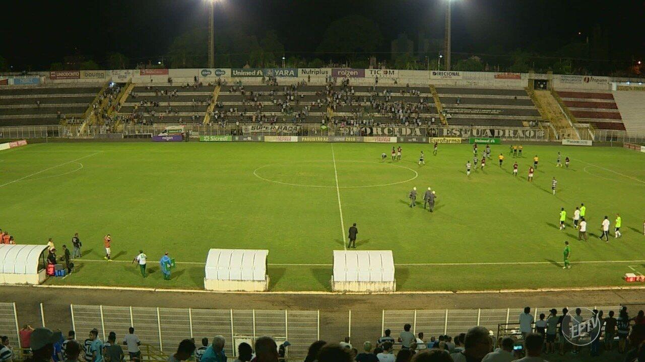 XV de Piracicaba é goleado pelo Oeste na Série A2