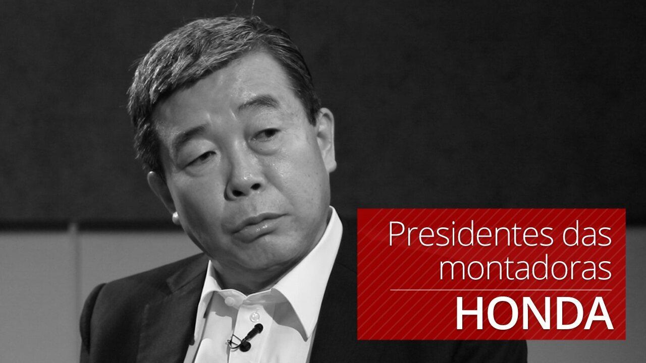 Presidente da Honda fala com exclusividade ao G1