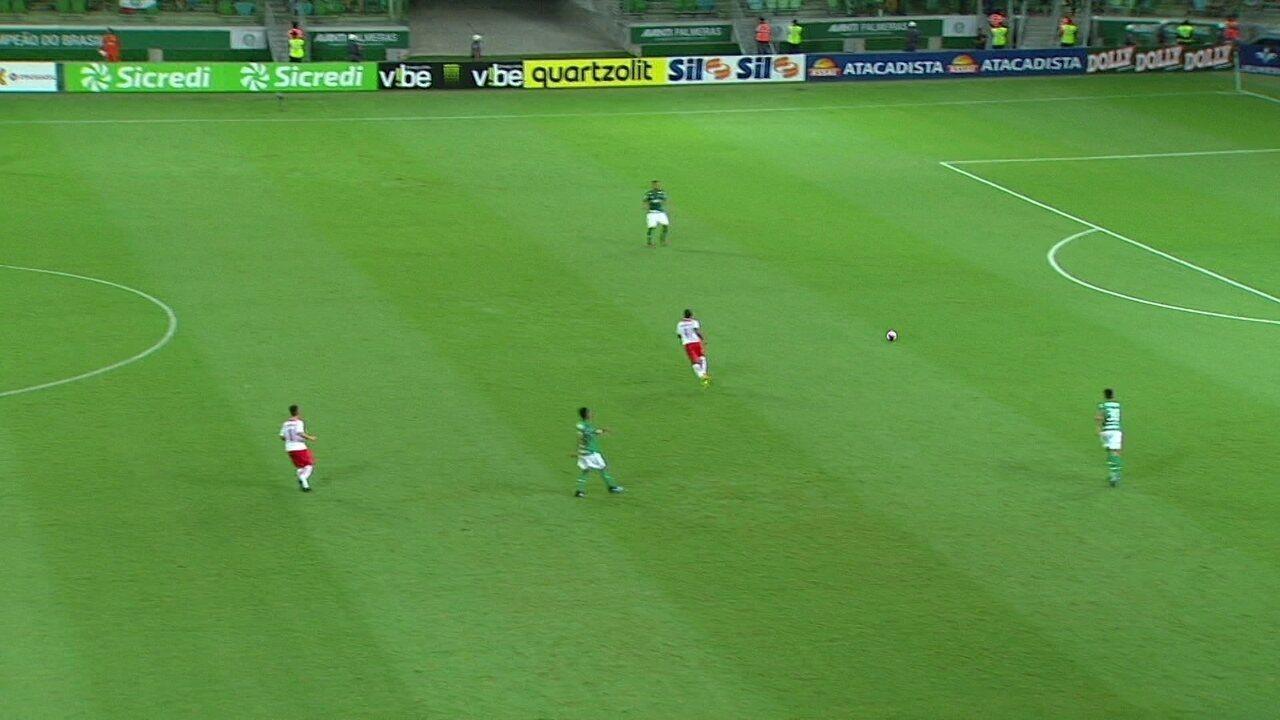 Veja o início da jogada que resultou no gol do RB Brasil