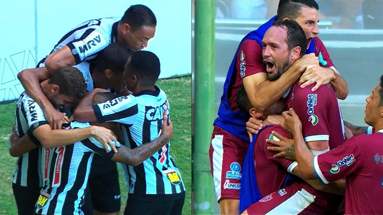 03517568a0 Melhores momentos de Atlético-MG 2 x 2 Patrocinense pelo Campeonato Mineiro