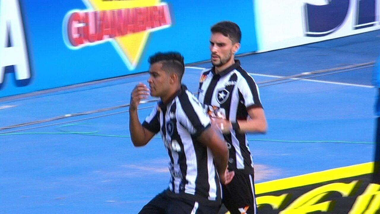 O gol de Botafogo 1 x 0 Boavista pela 4ª rodada da Taça Guanabara do Campeonato Carioca