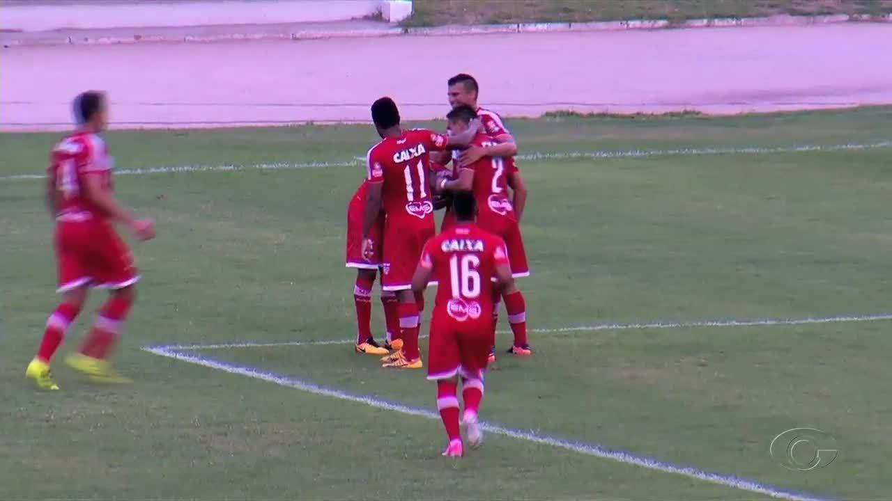 Veja os gols da goleada do CRB sobre o Santa Rita
