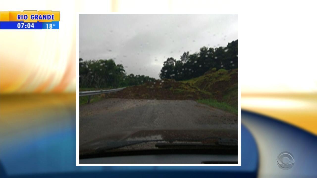 Trânsito: acesso a Porto Vera Cruz é interrompido