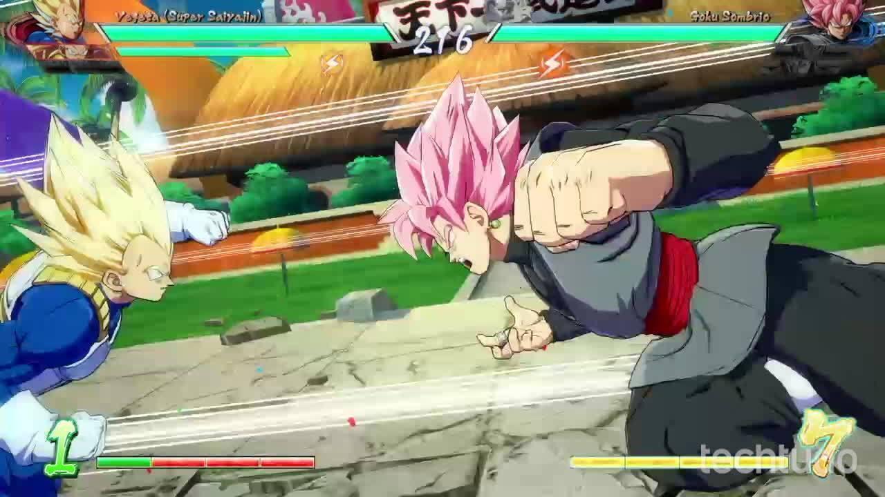 Dragon Ball FighterZ - Gameplay comentado