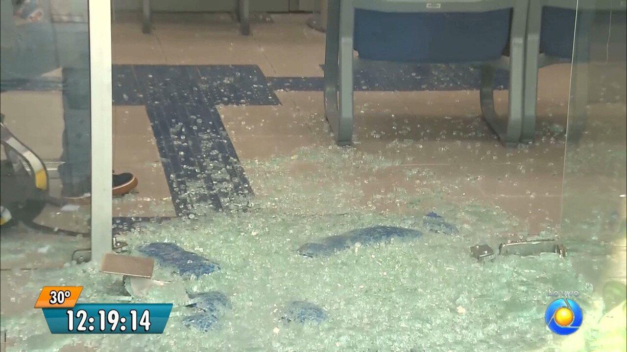 Agência bancária, que funciona no campus da UFCG, é assaltada em Campina Grande
