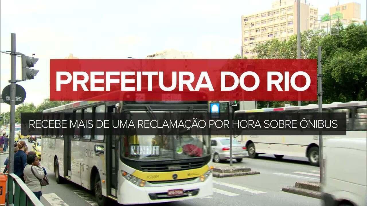 Prefeitura do Rio recebe mais de uma reclamação por hora sobre ônibus