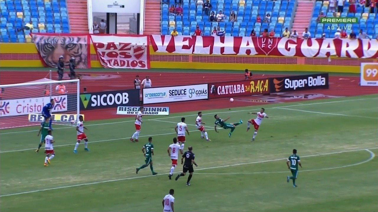 Veja os melhores momentos de Vila Nova 1x1 Goiás, no Olímpico