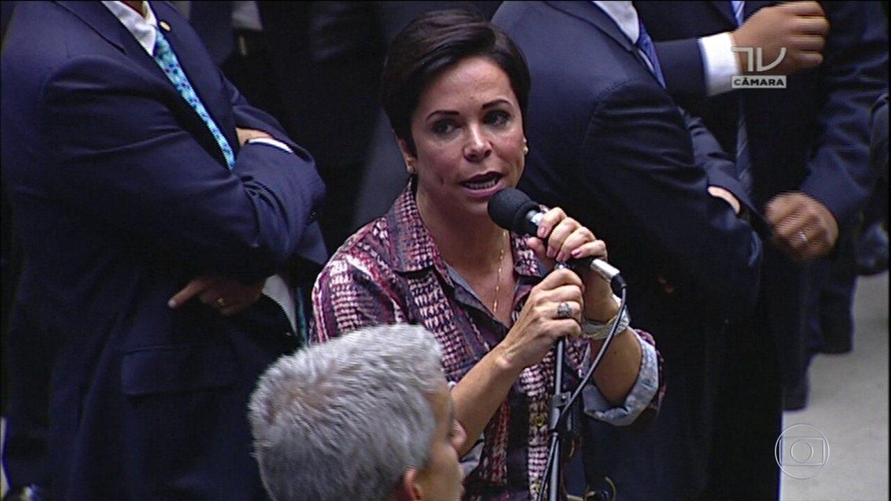 Cristiane Brasil é investigada por associação com o tráfico de drogas