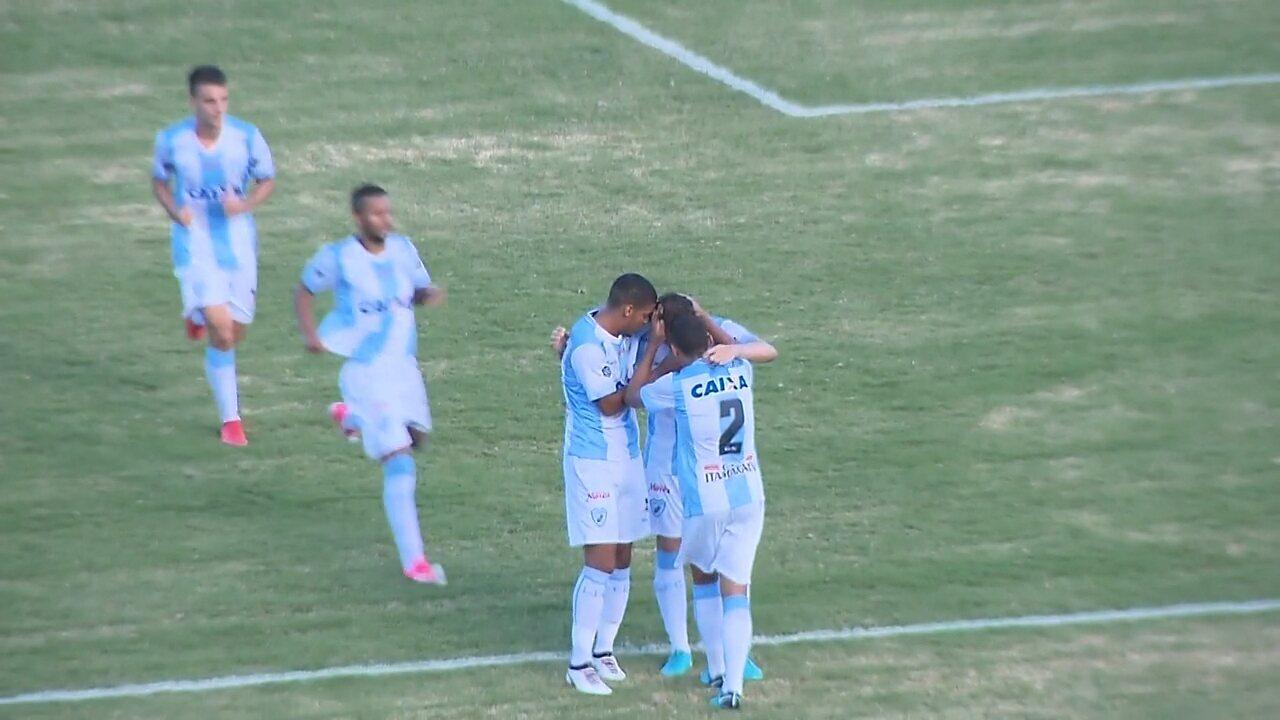 Gol do Londrina! Keirrison empata o jogo contra o Cianorte, aos 21 do 2º tempo