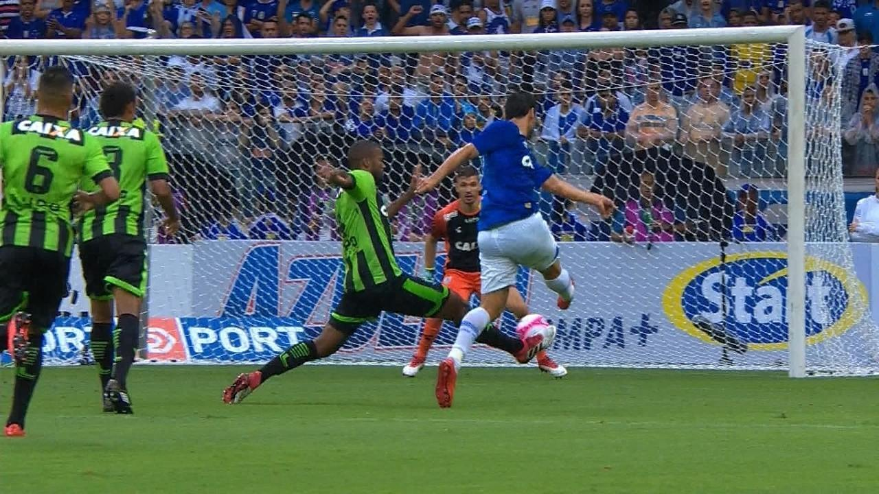 Melhores momentos de Cruzeiro 1 x 0 América-MG pelo Campeonato Mineiro