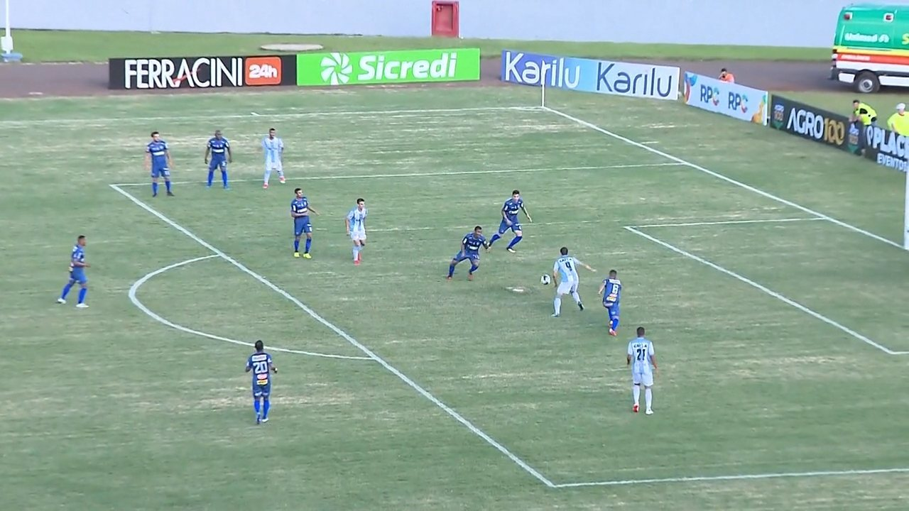 Confira os gols de Londrina 1x1 Cianorte, pela quarta rodada do Paranaense