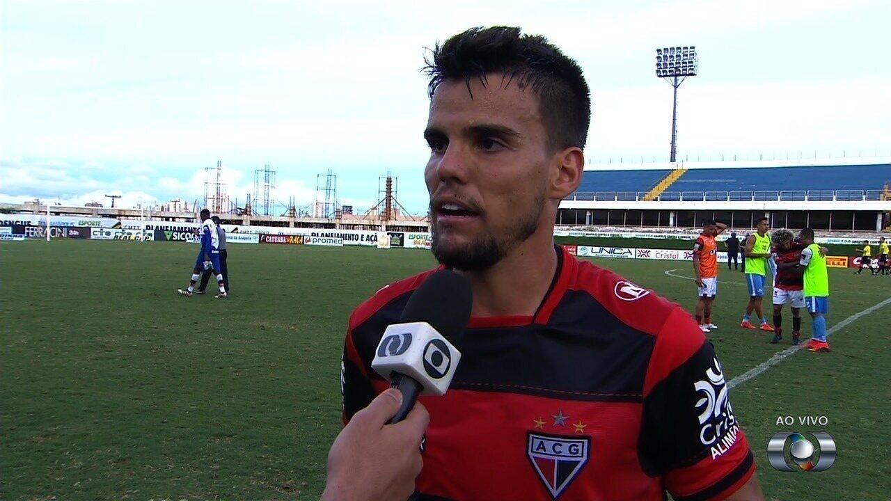 Rodrigo comenta empate e fala da Copa do Brasil