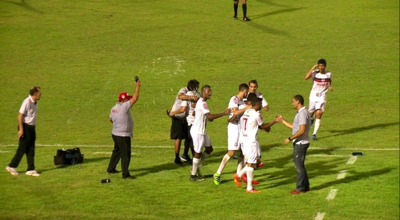 River-PI vence o Flamengo-PI e assume vice-liderança do Piauiense 2018; veja os gols