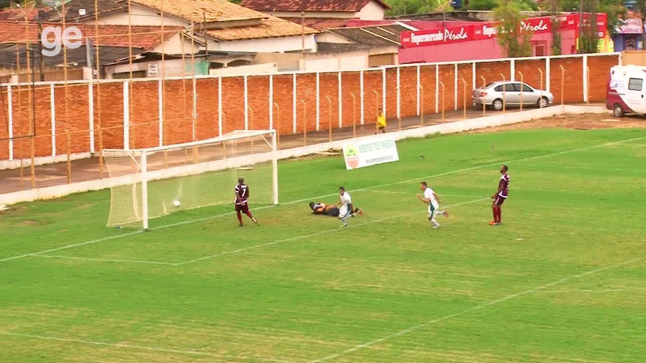 Os gols de Formosa 1 x 0 Santa Maria pelo Campeonato Brasiliense 2018