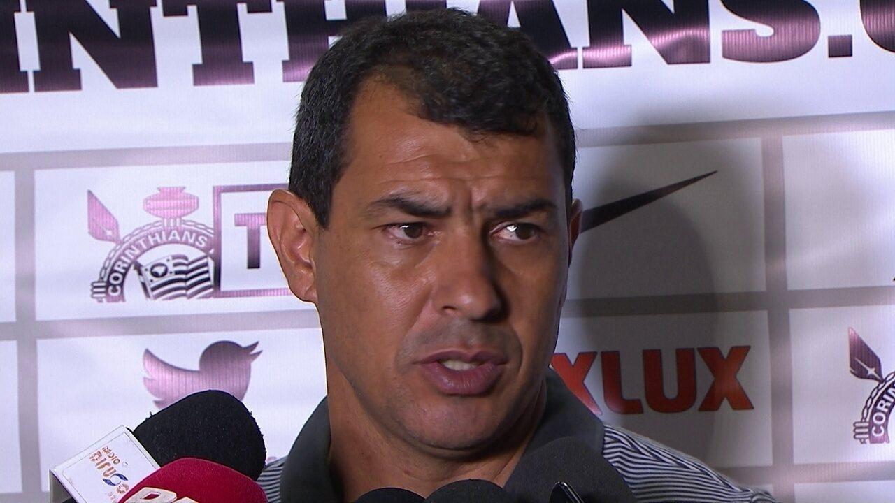 Veja a entrevista do técnico do Corinthians, Fábio Carille, que venceu o Novorizontino