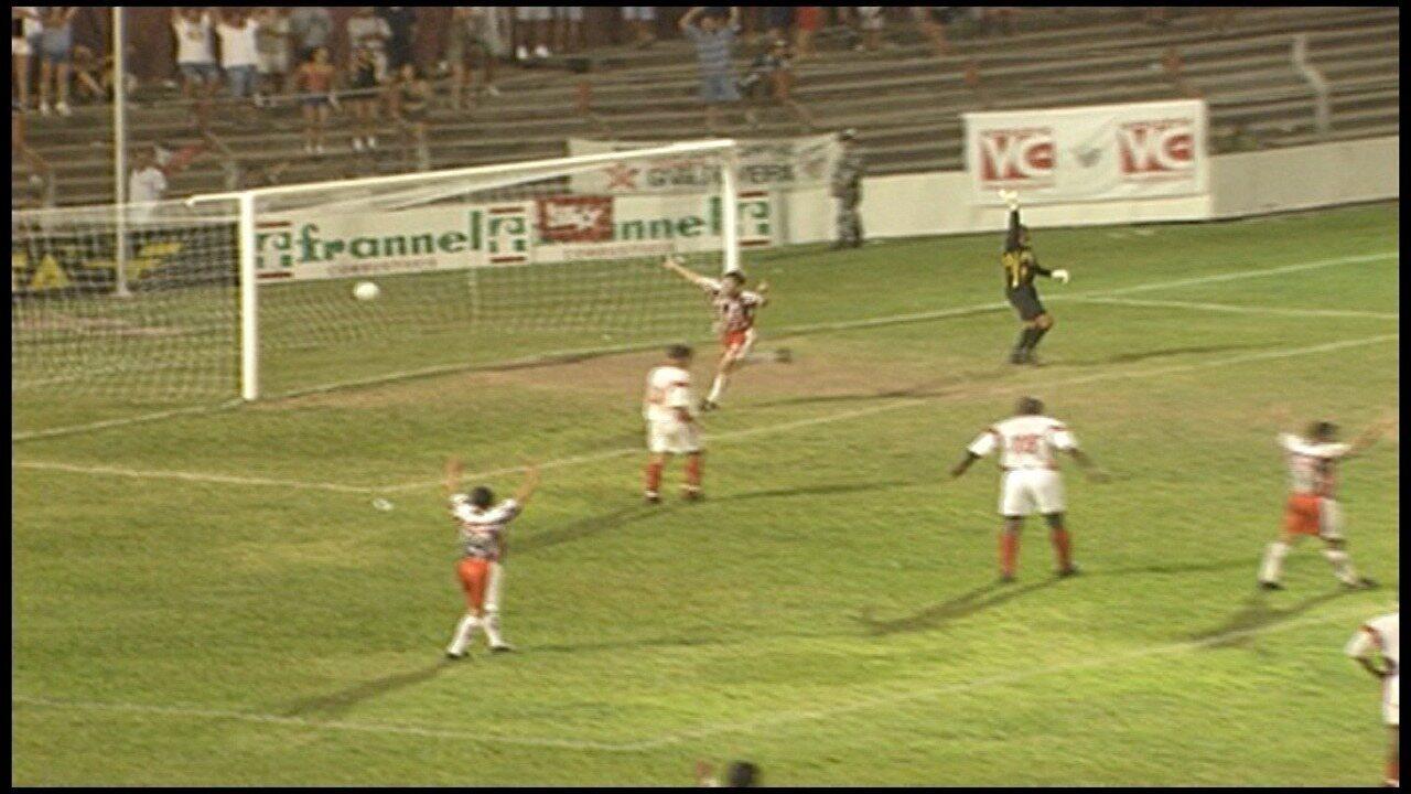Os gols de Serra 4 x 0 Dom Pedro II, pela Série C do Campeonato Brasileiro 1999