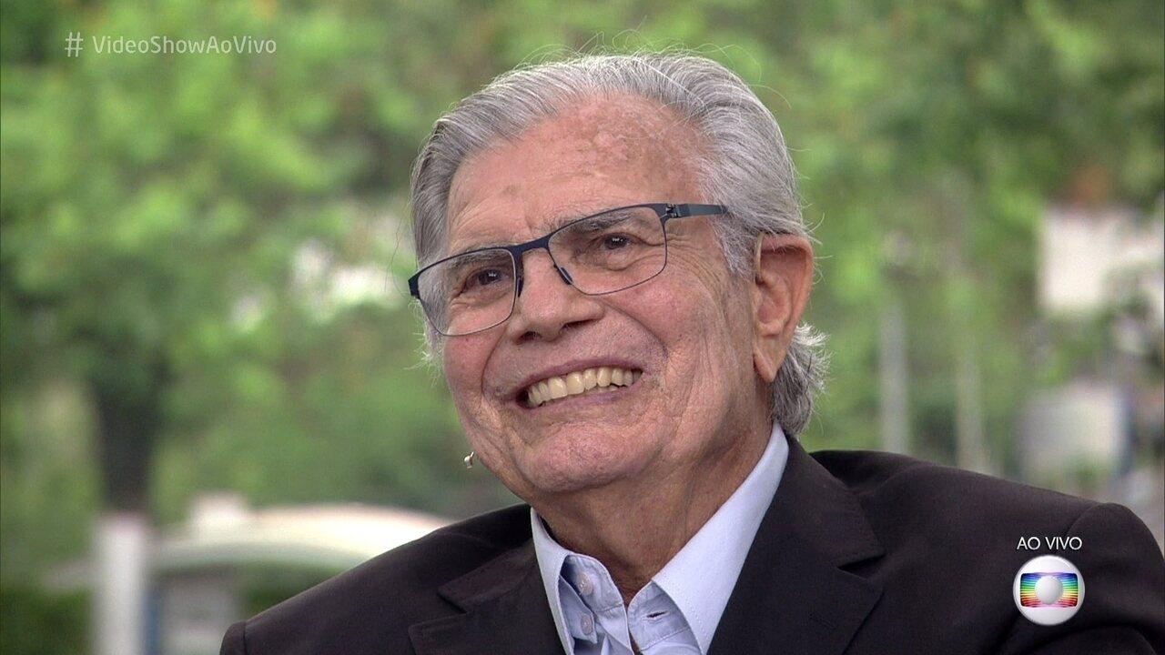Tarcísio Meira revisita a carreira no 'Meu Vídeo é um Show'