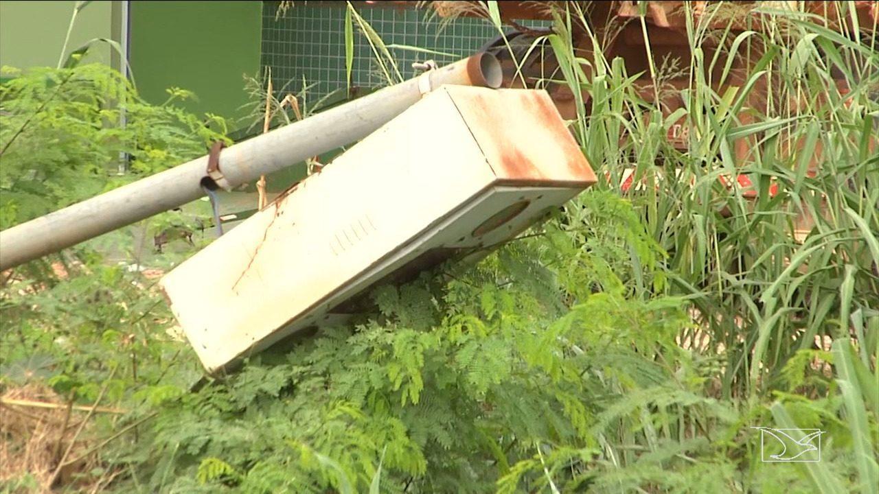 Barreiras eletrônicas são danificadas em rodovias no Maranhão