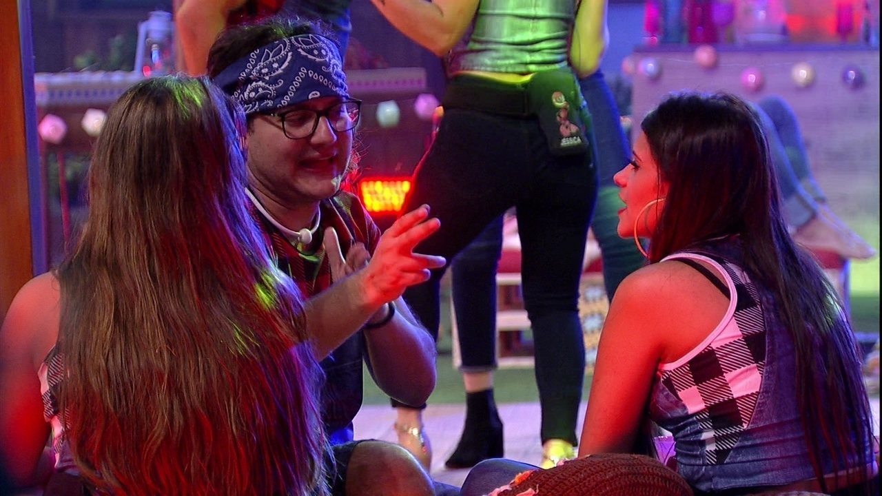 Diego e Ana Paula declara alvo: 'Paredão nela'