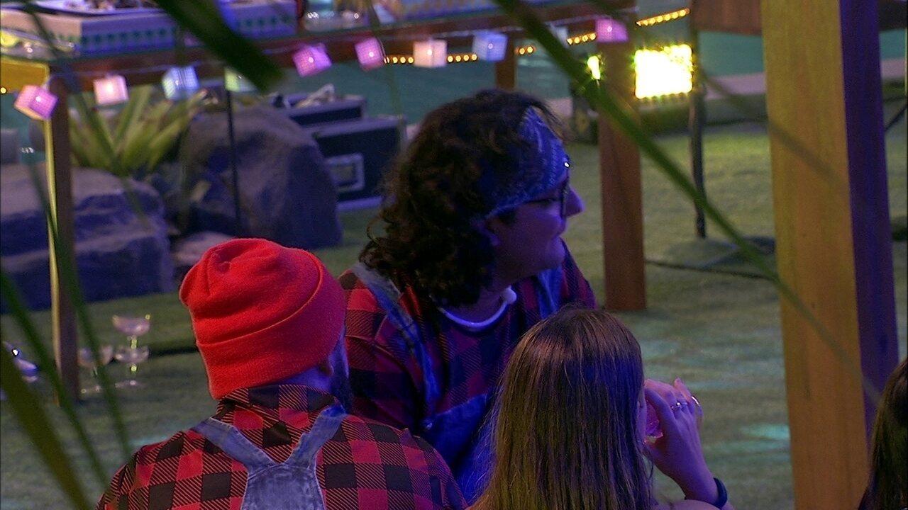 Diego afirma sobre Jéssica: 'Breno está em cima'