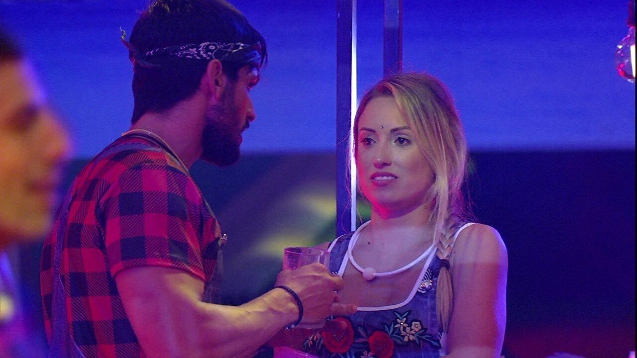 Jéssica desabafa sobre Ana Clara: 'Breno veio dançar e ela ficou brava'