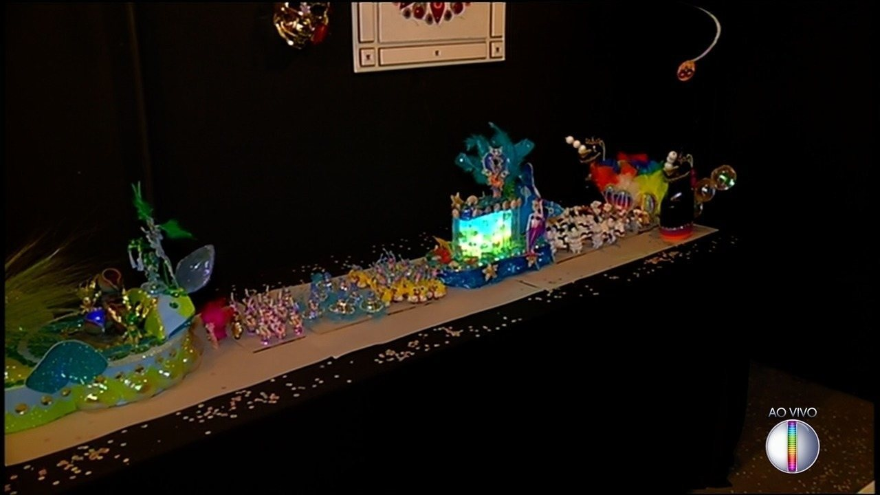 'Espaço Cultural' da Inter TV em Nova Friburgo, RJ, recebe exposição sobre o carnaval