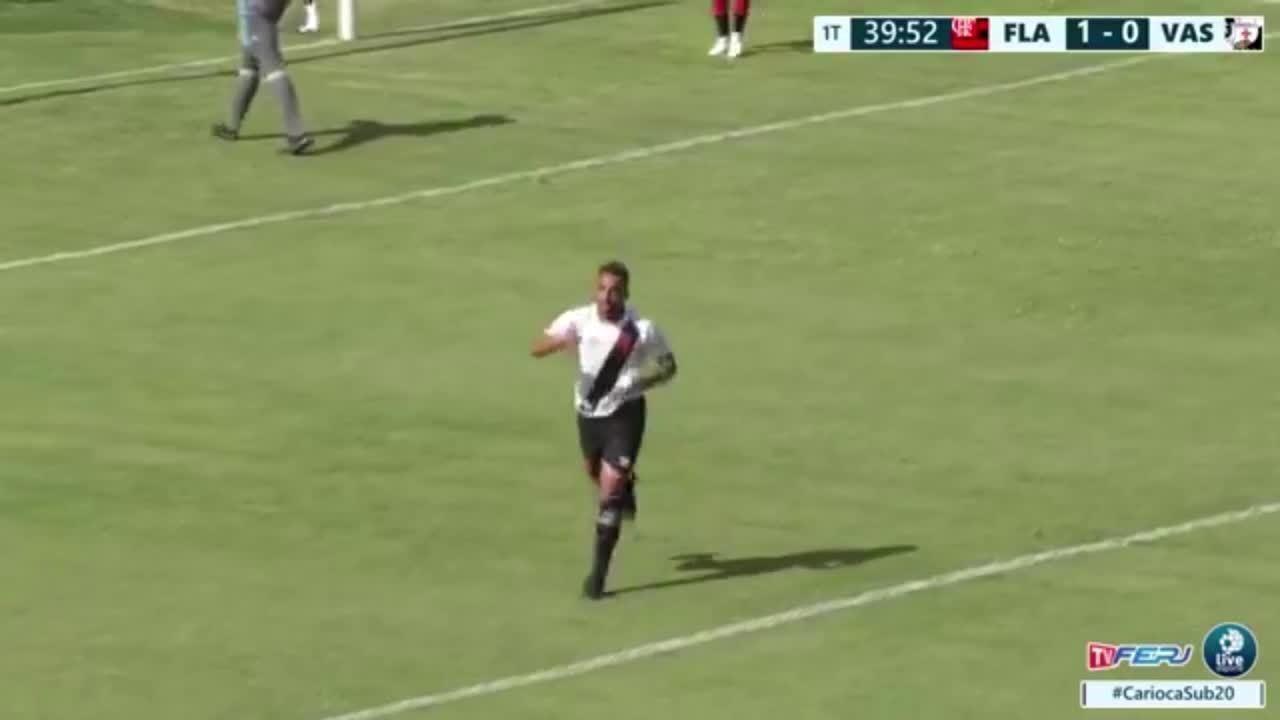 Vasco vira e vence Flamengo pelo Campeonato Carioca sub-20