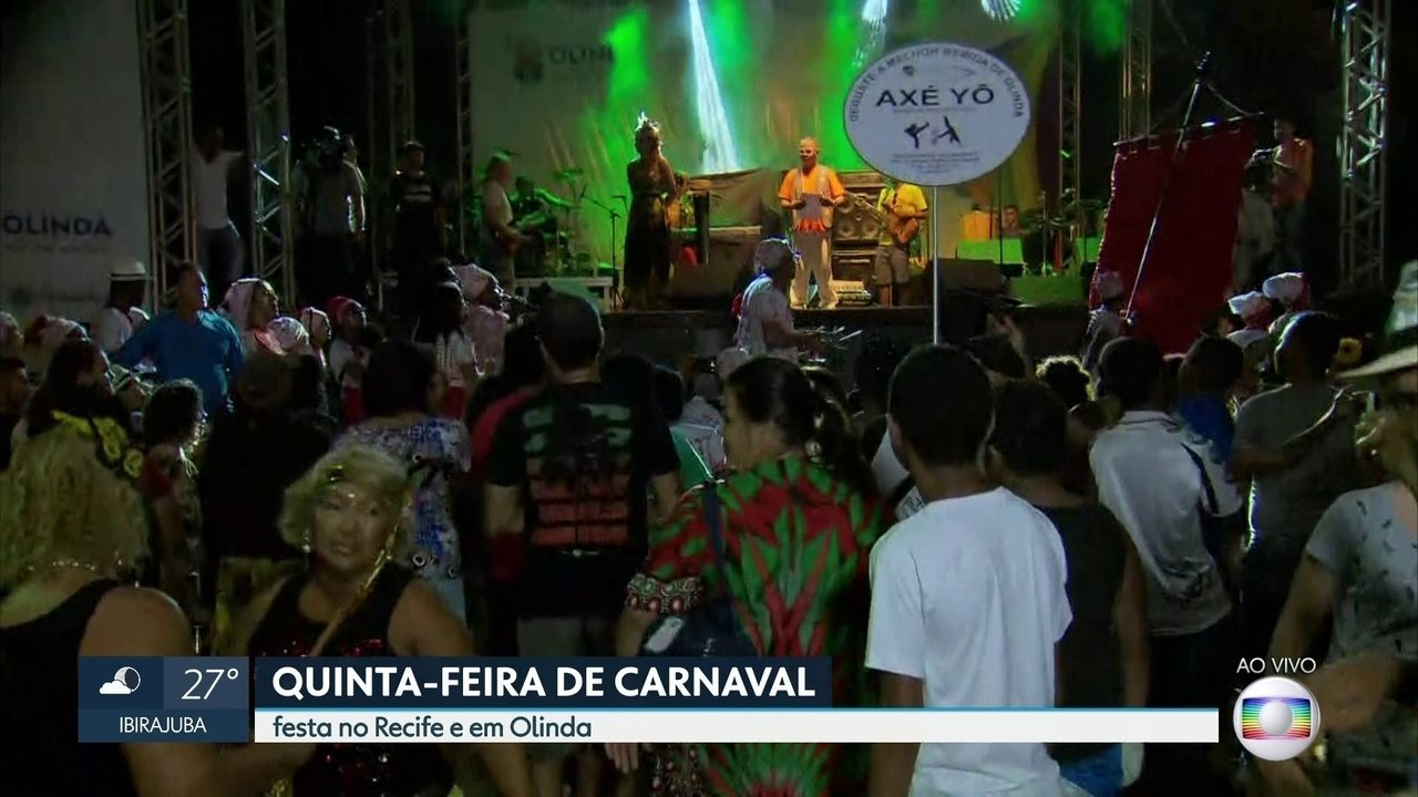 Shows com 25 artistas abrem oficialmente o carnaval 2018 em Olinda