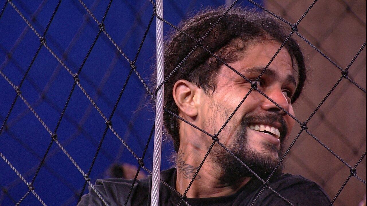 Viegas fala sobre brothers na prova de resistência: 'Os mais legais estão aqui'