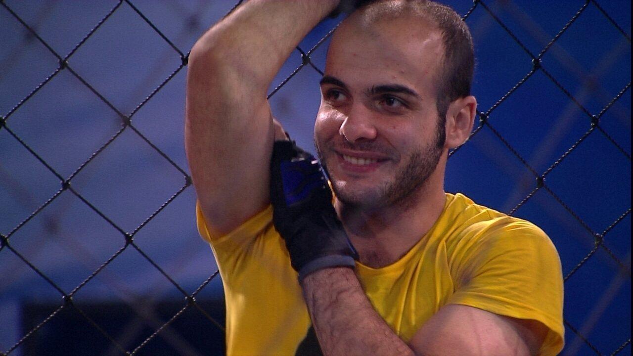 Mahmoud afirma: 'Nunca na vida tive tanta sorte'