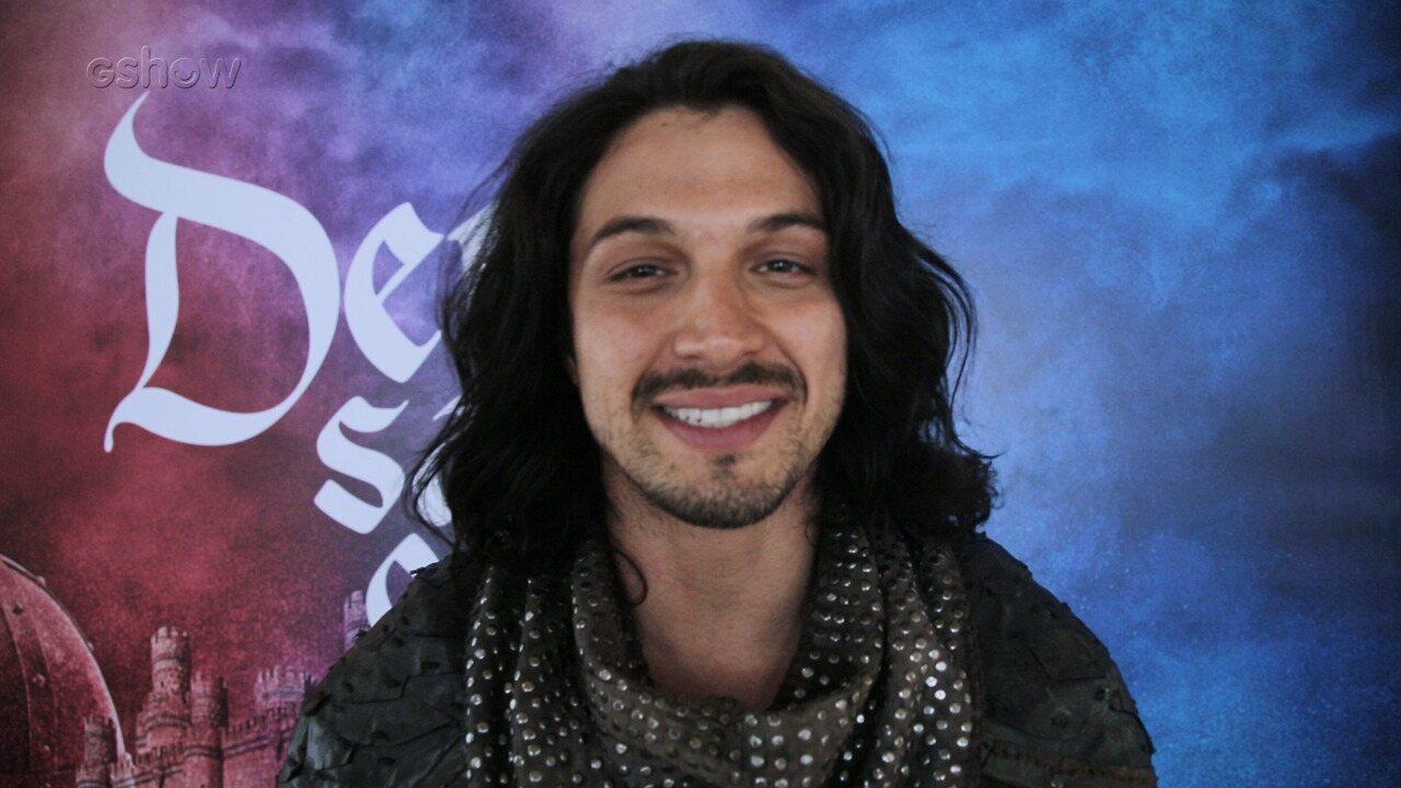 Romulo Estrela fala sobre envolvimento de Afonso no resgate de Catarina