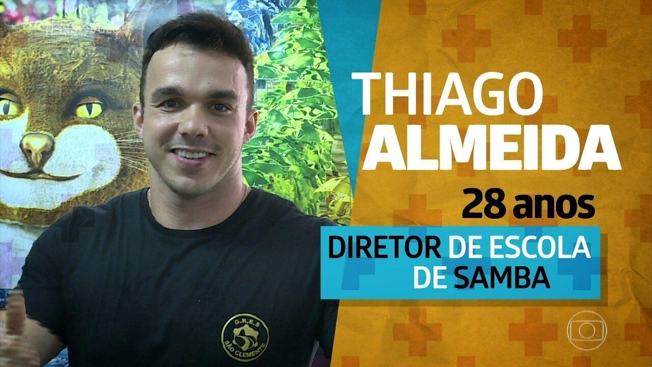 Thiago Almeida vence o concurso Bonitão dos Barracões