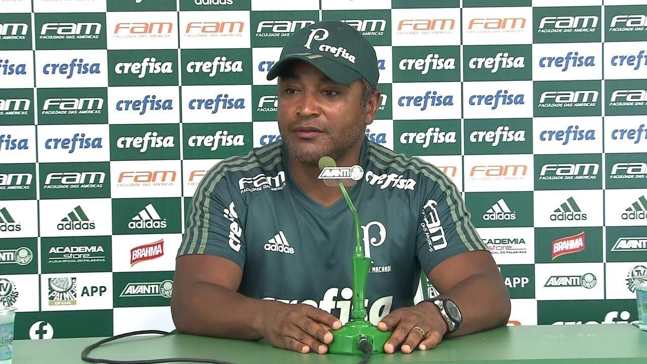 Veja a íntegra da entrevista coletiva de Roger Machado, do Palmeiras